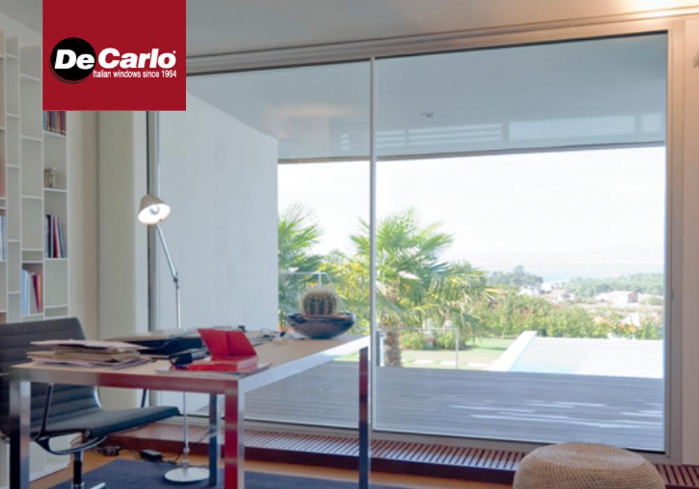 Collezione finestre de carlo wide vision di luca infissi - Finestre de carlo ...