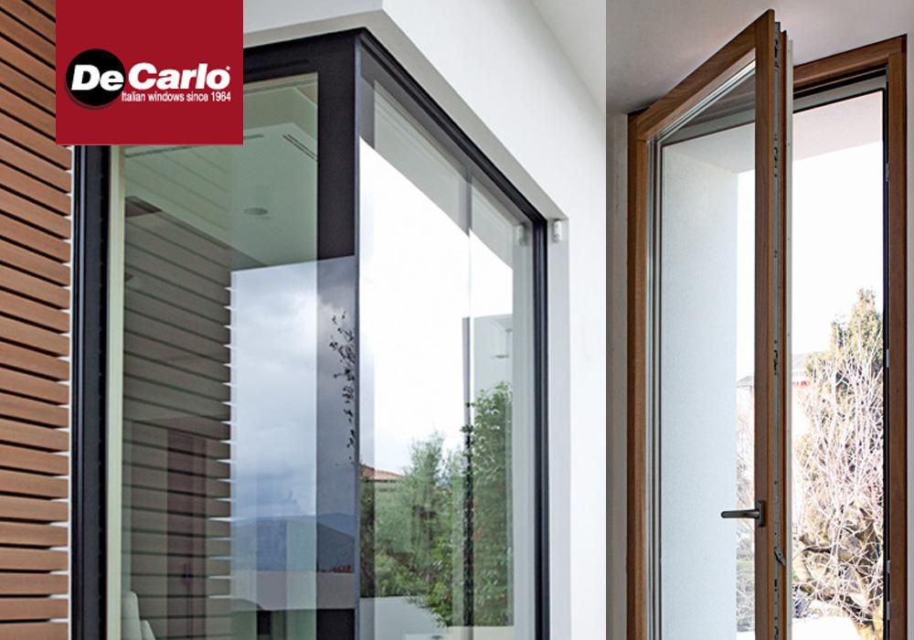 Finestra de carlo exter glass design di luca infissi - De carlo finestre ...