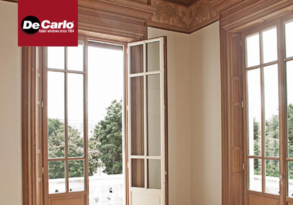 Finestra de carlo legno arte di luca infissi - De carlo finestre ...