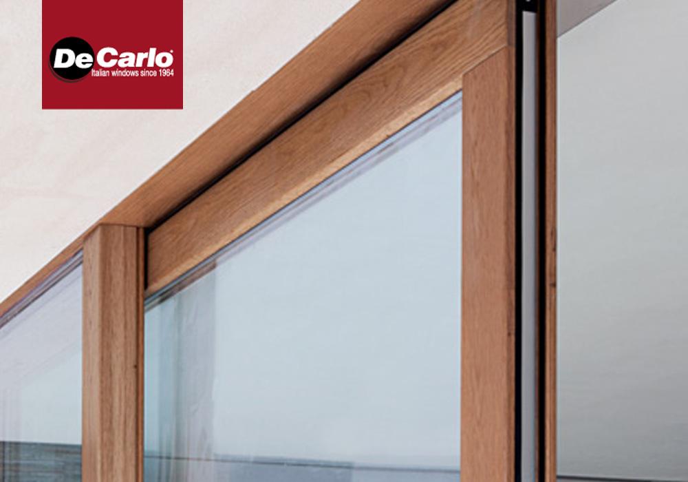 Finestra de carlo legno wglass di luca infissi - Finestre de carlo ...