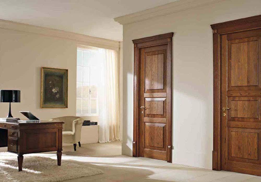 Collezione porte garofoli 110 e lode di luca infissi for Infissi color legno