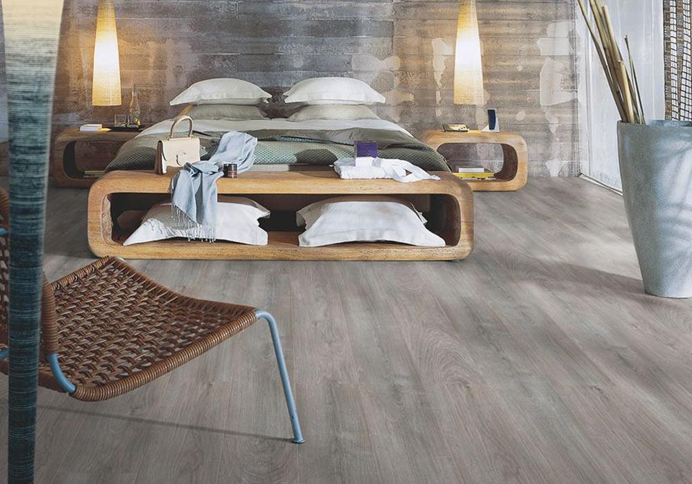Pavimenti In Rovere Grigio : Pavimento laminato pergo rovere grigio sbiancato plank di luca
