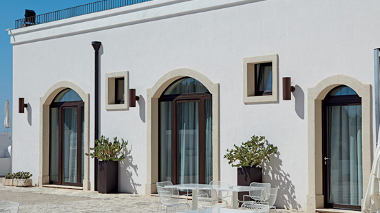 Collezione finestre de carlo stile classico di luca infissi - De carlo finestre ...